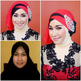 Tutorial Hijab Pesta Modern