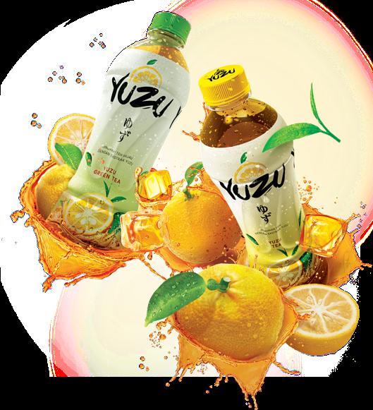 Kesegaran Minuman Yuzu
