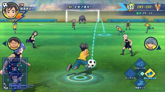 Game Inazuma Eleven Ares Untuk Konsol Kualitas Tinggi