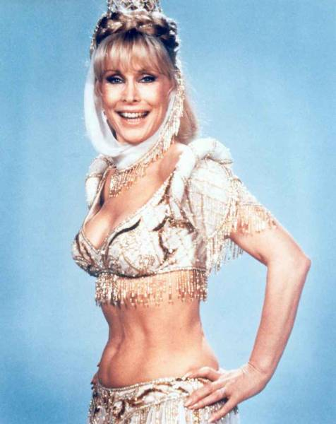 Barbara eden as jeannie sorry, not