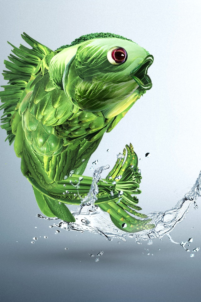 Very Nice Iphone Fish Wallpaper Wallpaper Amp Pictures