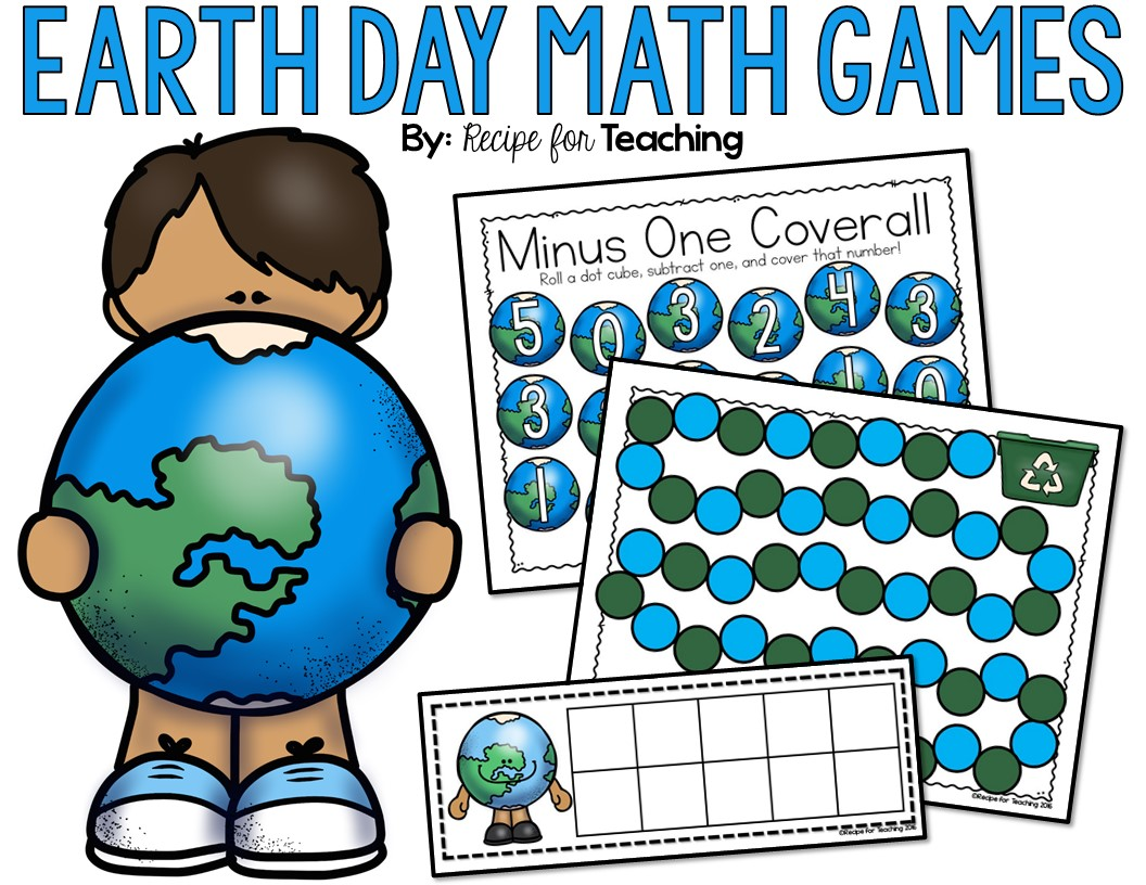 earth day math games recipe for teaching