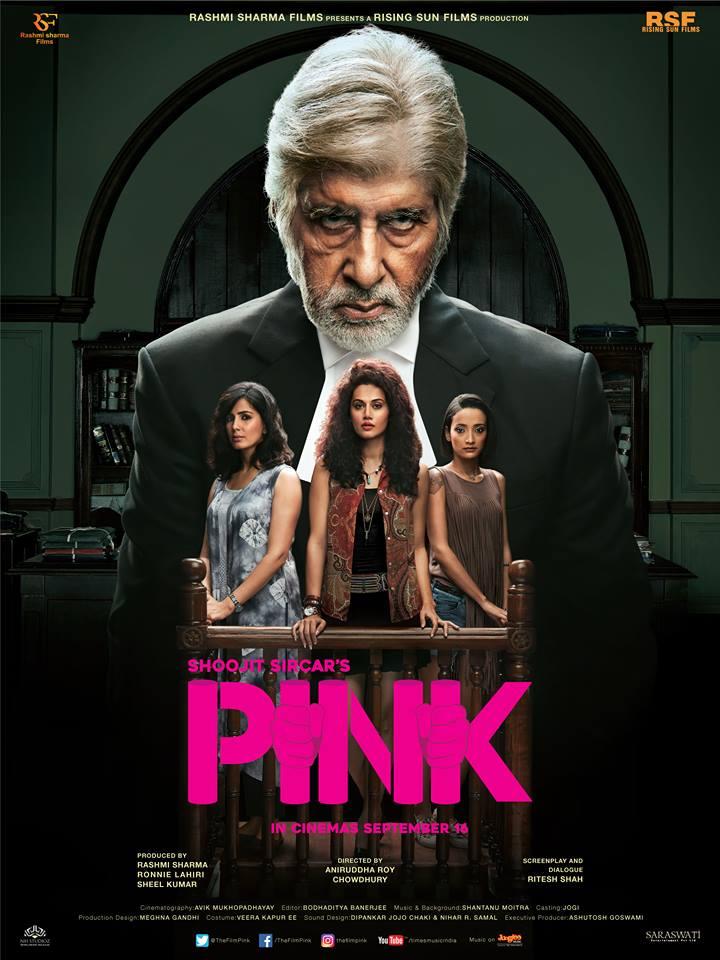 Pink DVDRip 300mb 700mb 2016 Hindi