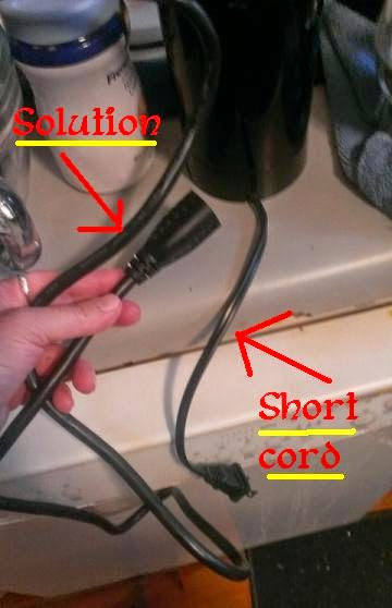 Solid Cordz 6 foot extension cable  solution