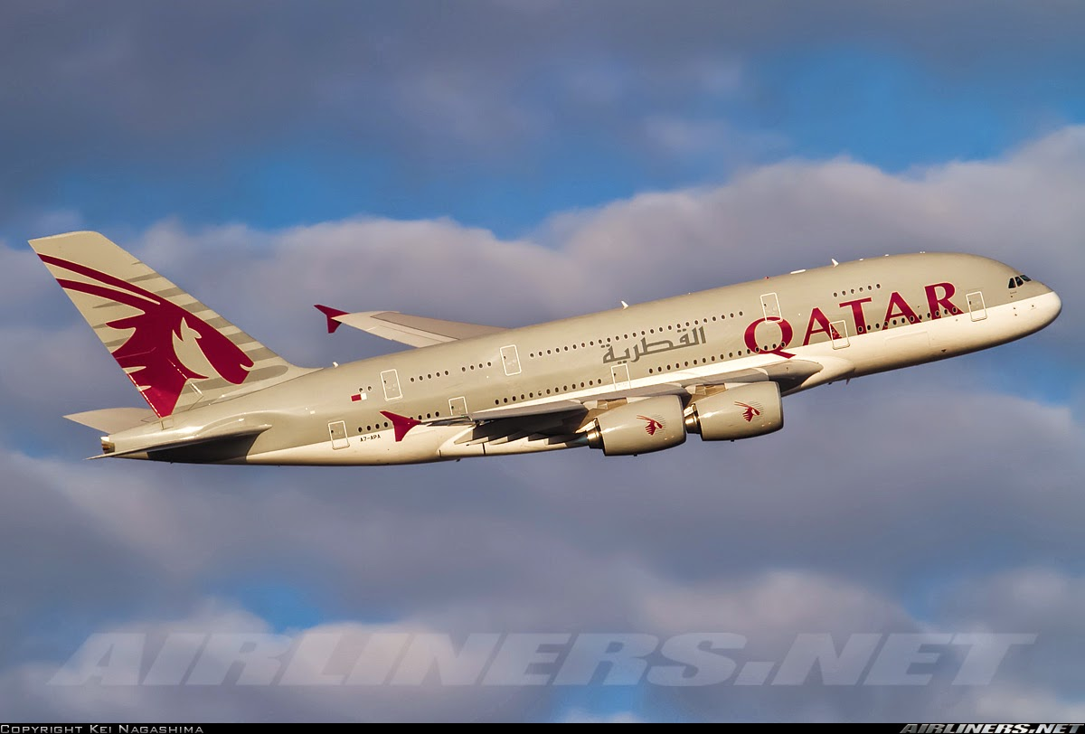 Philippine Flight Network: Qatar Airways A380 Flight Review