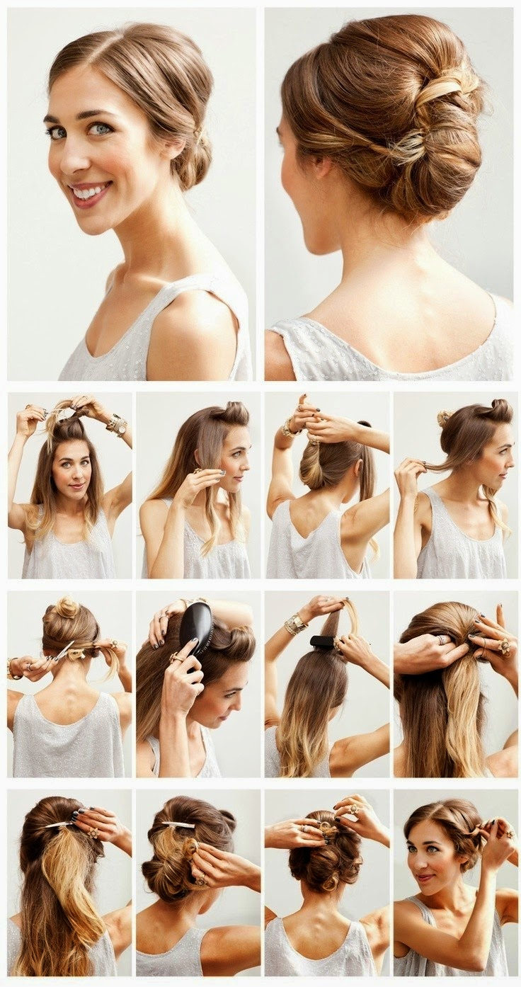 Hairstyles and Women Attire: 5 Hottest Wedding Hairstyles Tutorials for Brides and Bridesmaids