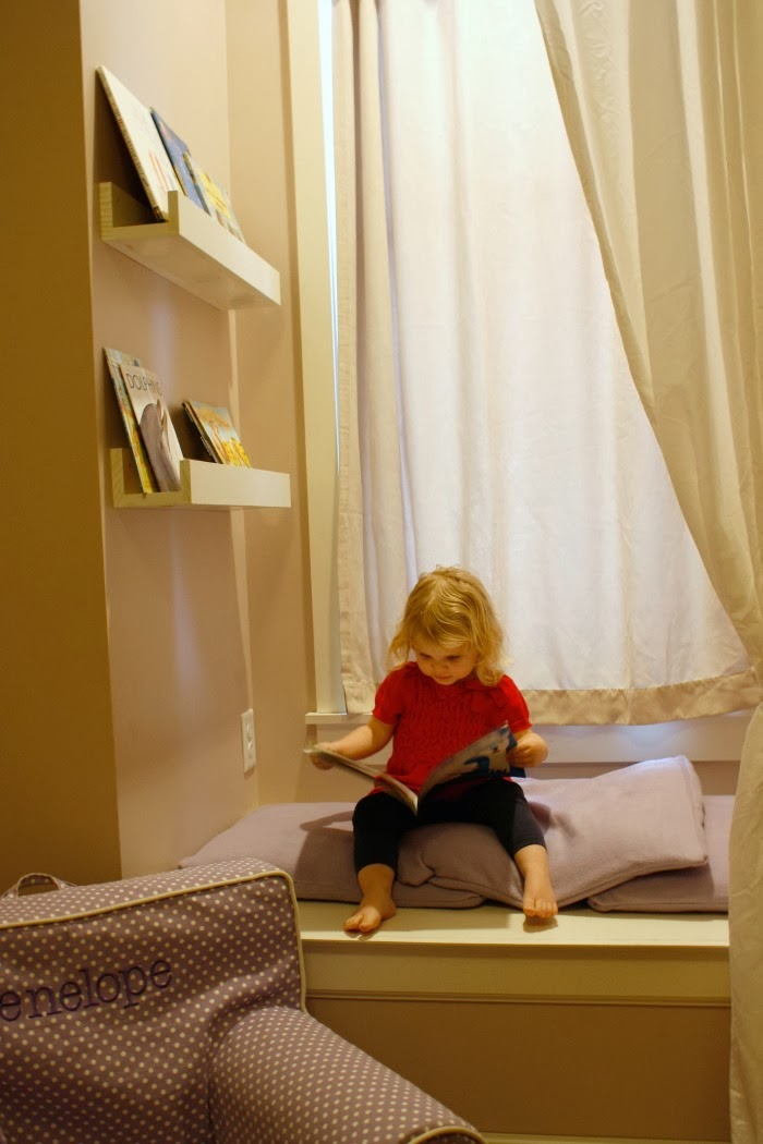 Reading Nook Free Makeover