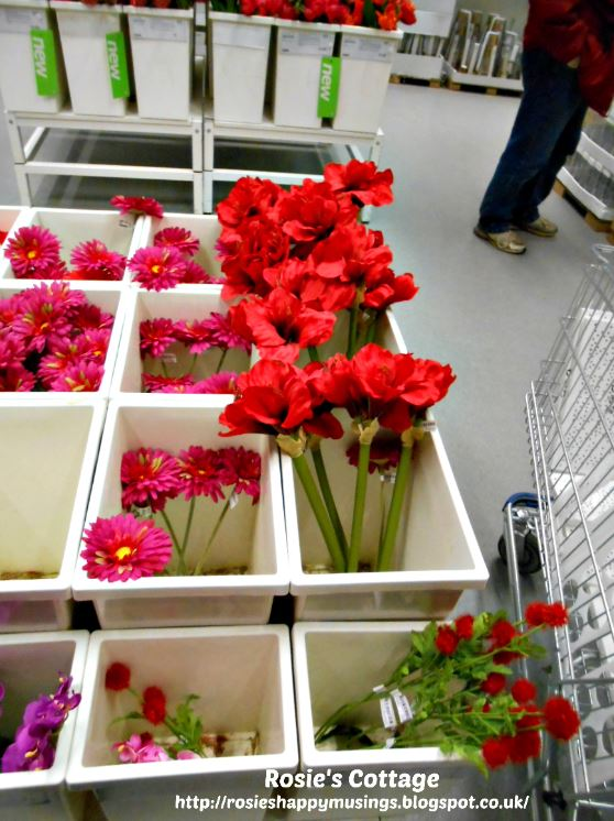 Ikea Artificial Flowers