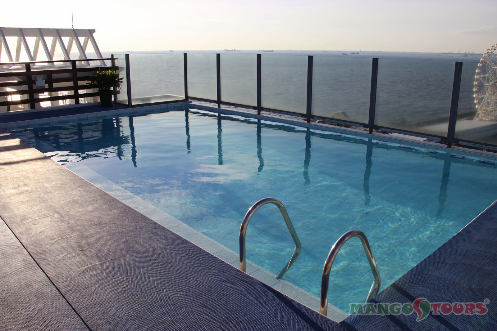 Mango Tours Microtel by Wyndham Mall of Asia roof deck swimming pool
