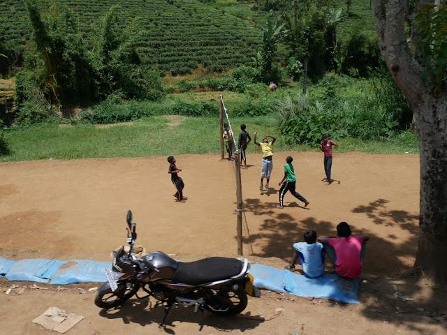 Volleyball - the national sport of Sri Lanka