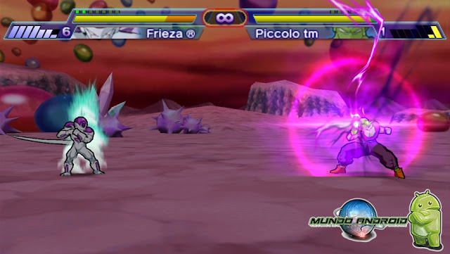Jugabilidad de Dragon Ball Z - Shin Budokai