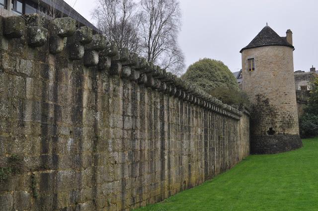 Muro da cidade - Quimper - Finistère - Bretanha - França