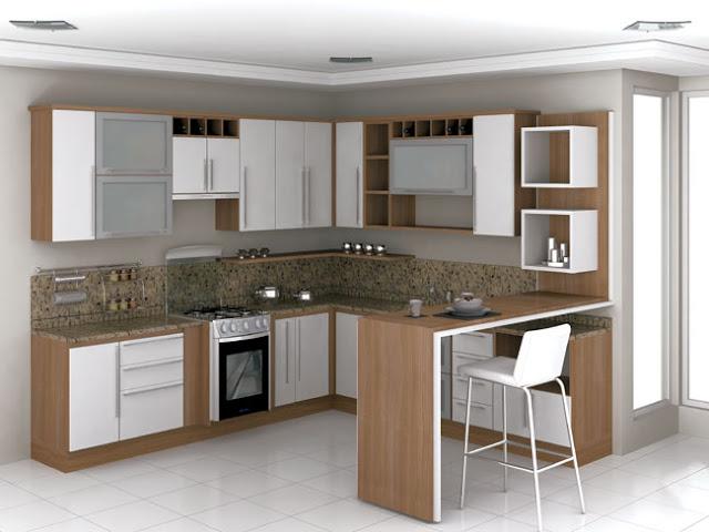 Construindo Minha Casa Clean Cozinha em Laca ou MDF? Modernas e Lindas!! # Armario De Cozinha Planejado Porta De Vidro