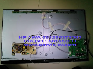 Service Sharp TV LED LC-32LE340