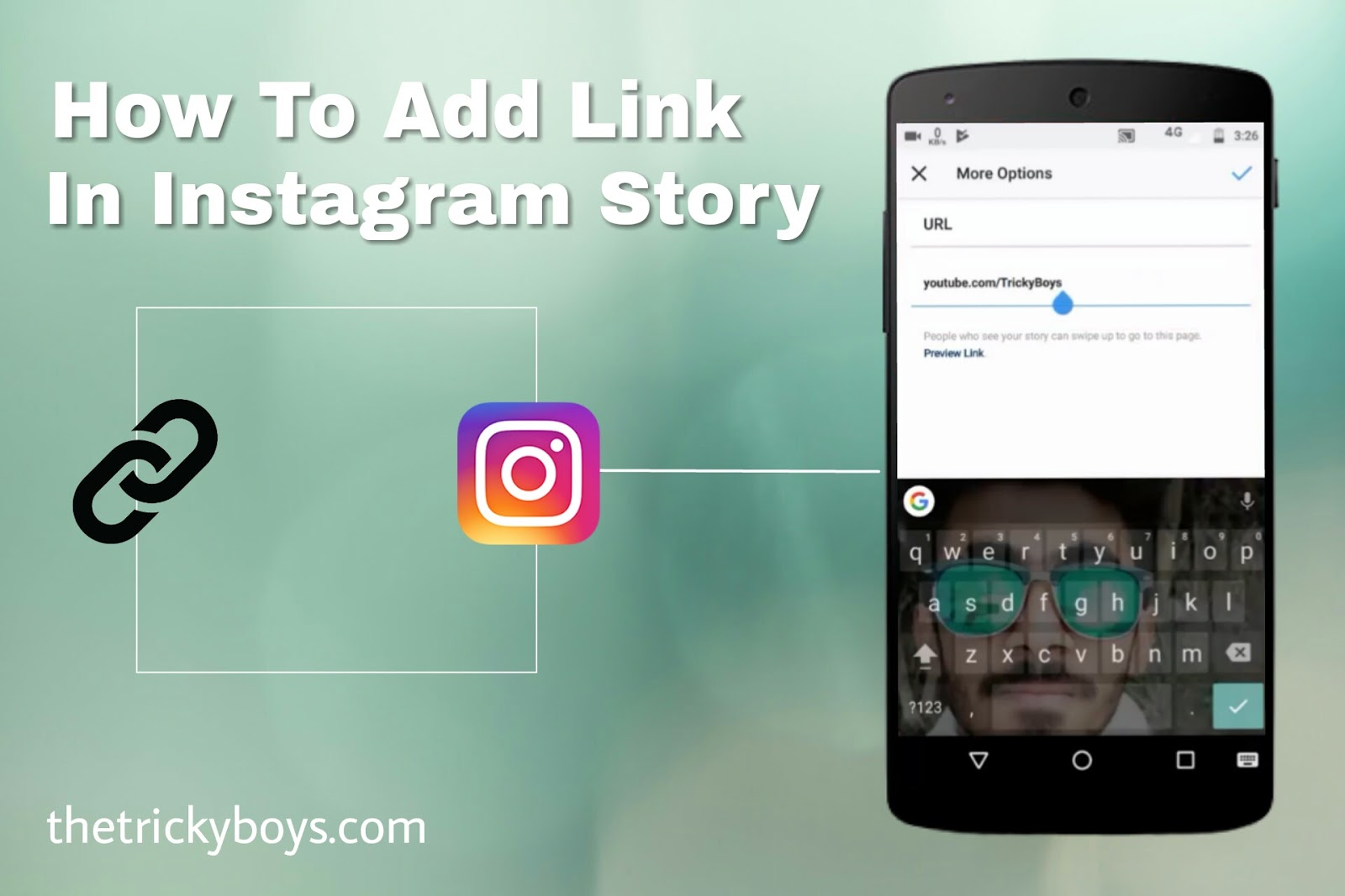 How to add link in instagram story instagram update tricky boys how to add link in instagram story instagram update ccuart Images