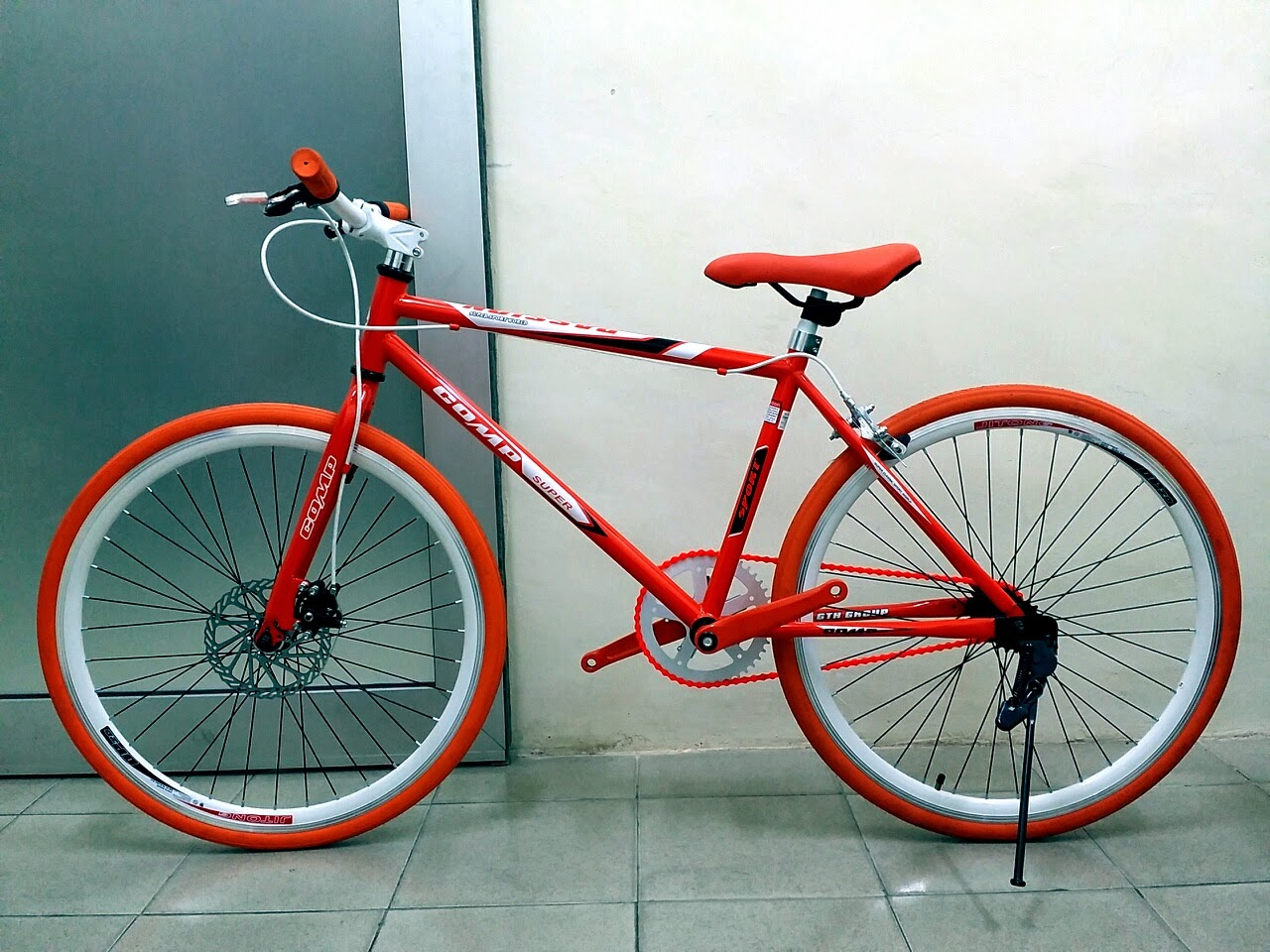 """CHOO HO LEONG (CHL) Bicycle: 24"""" Comp Passion Fixie With"""