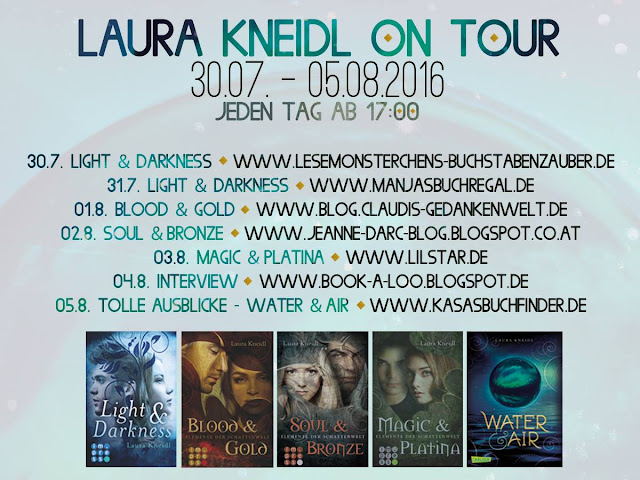 Gewinner Bekanntgabe | Blogtour | Laura Kneidl on Tour | www.book-a-loo.blogspot.de