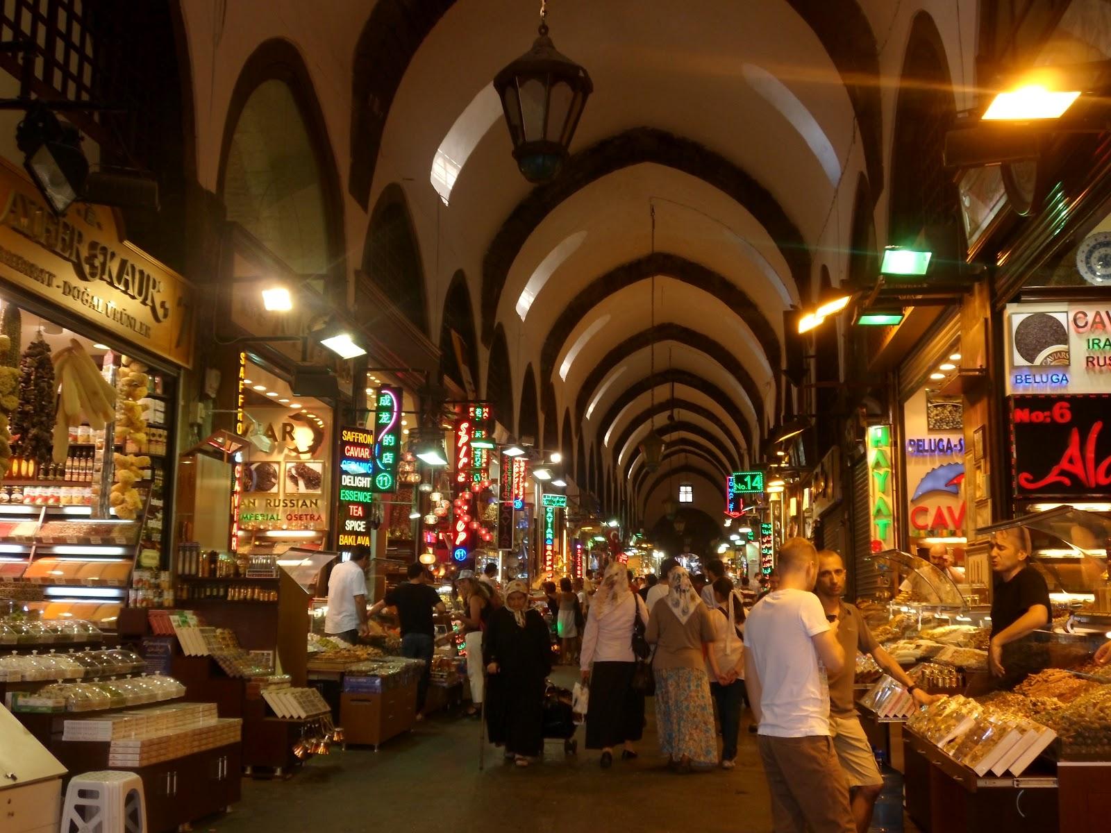 SPICE BAZAAR OF ISTANBUL  Travel to Turkey