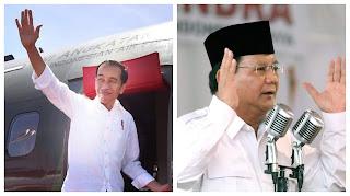 Pak Jokowi Pak Prabowo