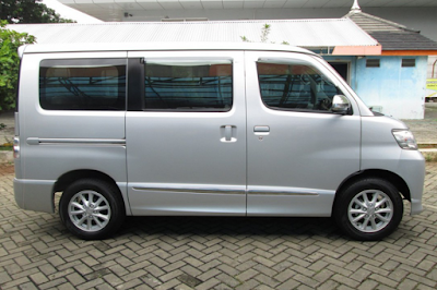 Eksterior Daihatsu Luxio Facelift