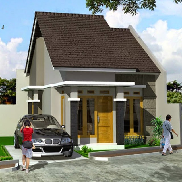Desain untuk Teras Rumah Minimalis Type 36