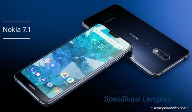 Nokia 7.1 | Spesifikasi Lengkap | Harga | Ulasan