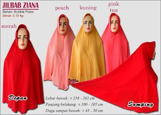 Koleksi jilbab polos cantik terbaru 2017-ziana