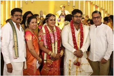 Nassar in Maalica Ravikumar wedding