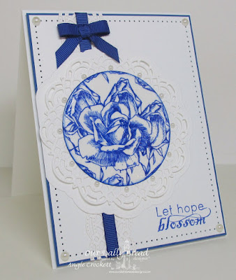 Our Daily Bread Designs Stamp sets: Blossom, Our Daily Bread Designs Custom Dies: Doily, Beautiful Borders