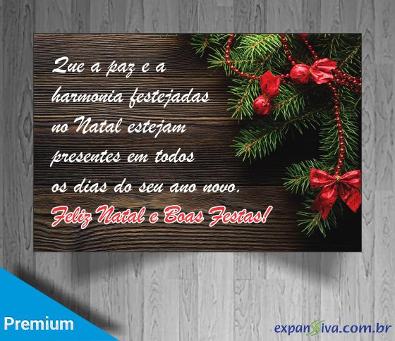 cartão de natal evangélico