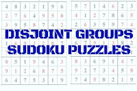 Disjoint Groups Sudoku Variation Puzzles