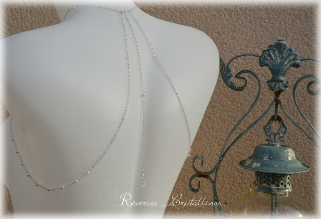 Collier mariage argent