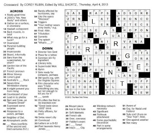 easy printable crossword puzzles