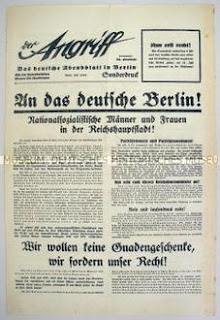 Journal nazi Der Angriff 1932