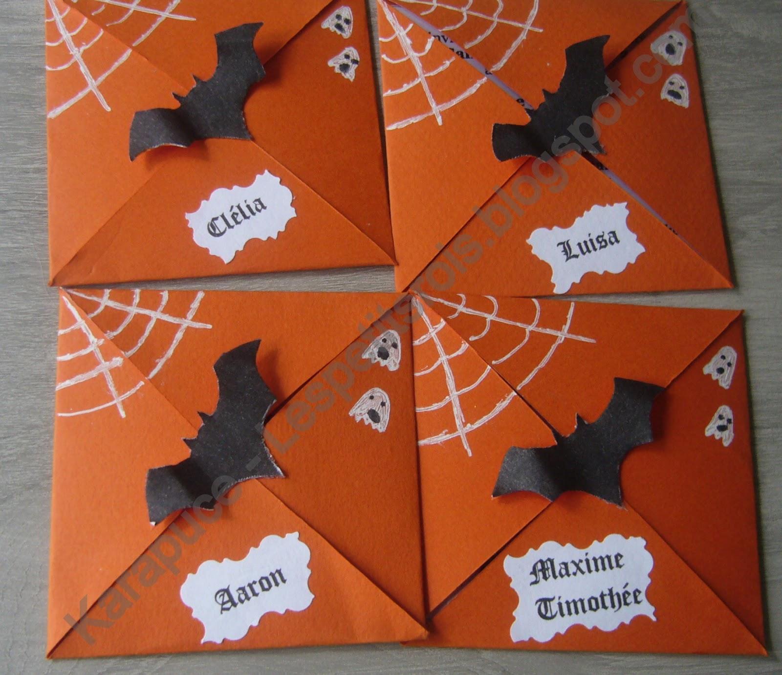 invitation anniversaire theme halloween