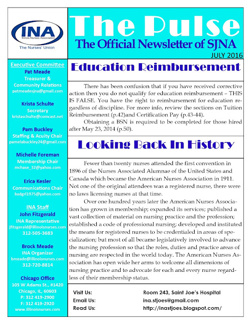 Union Newsletter July 2016