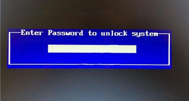 cara membuka password bios laptop asus