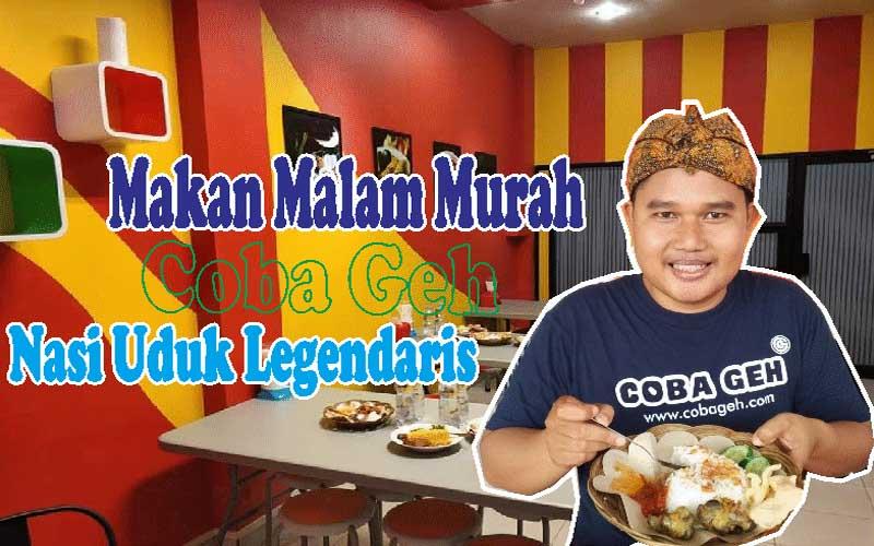 Coba Geh Ingin Makan Malam Murah di Pringsewu Coba Geh Nasi Uduk Legendaris