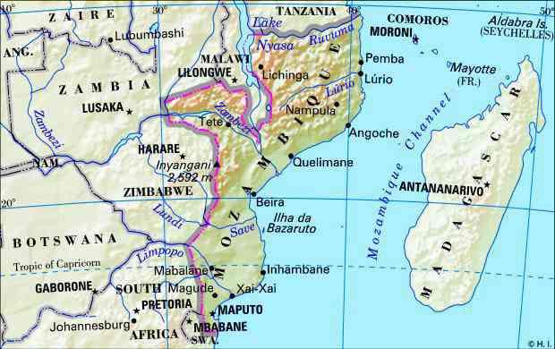 Periode Sejarah Islam di Mozambik
