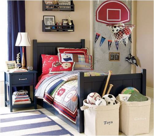 Young Boys Sports Bedroom Themes - House Affair