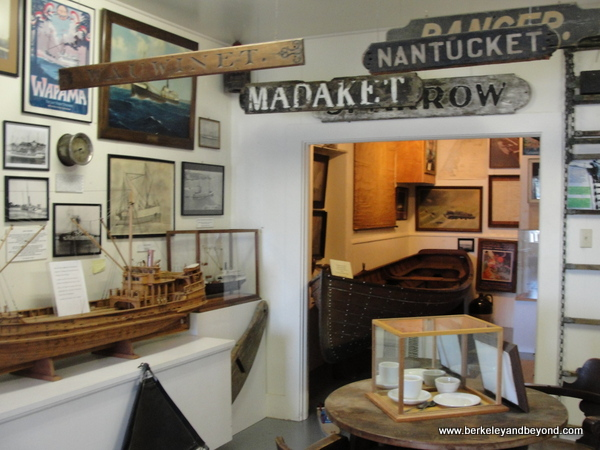 displays at Humboldt Bay Maritime Museum