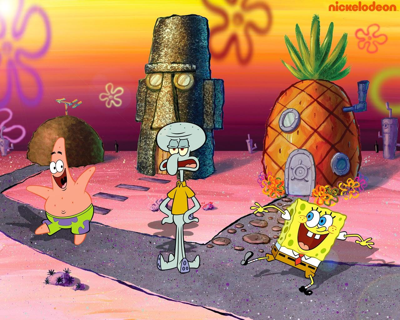 40 Rumah Spongebob Squidward Dan Patrick Terlengkap Gambar Anime Keren Terlengkap