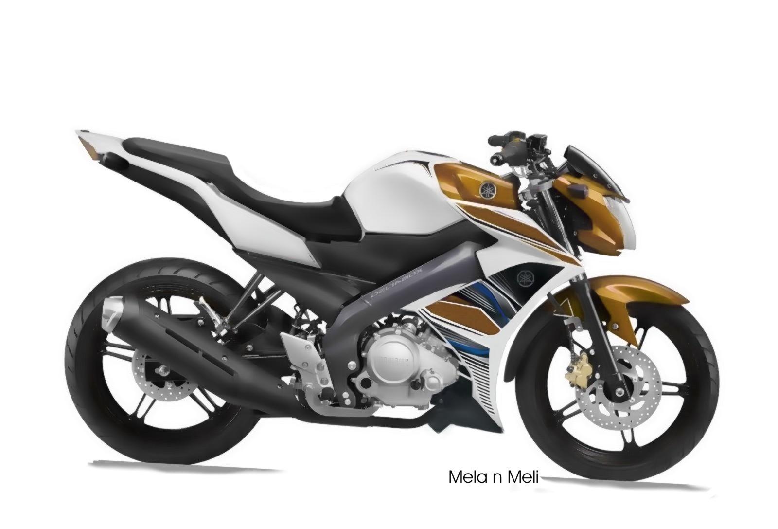 Foto Modifikasi Motor Yamaha New Vixion