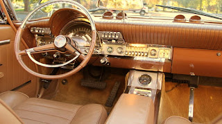 1962 Chrysler 300H Convertible Dashboard