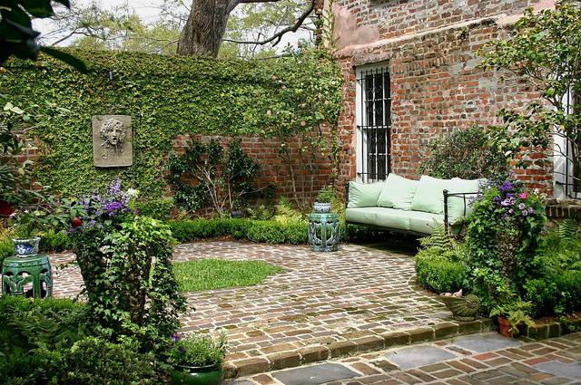 tiny courtyard ideas - Google Search   Small Interior ...   Nursery Courtyard