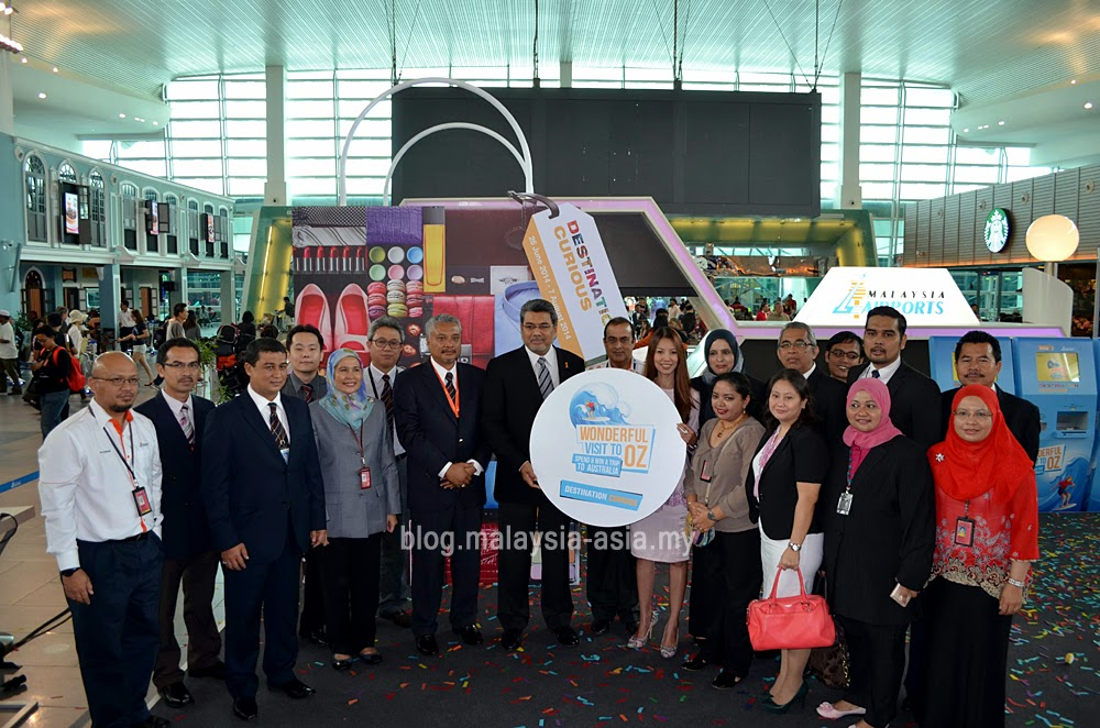 Malaysia Airports Staff at the Destination Curious Launch
