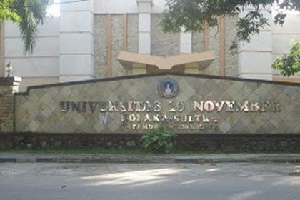 Info Penerimaan Mahasiswa Baru Universitas 19 November Kolaka 2022-2023