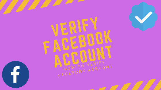 Verify Facebook Account<br/>