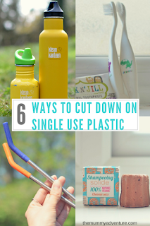 cutting down on single use plastic, eco-living, themummyadventure.com