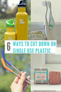 cutting down on single use plastic, eco-living, themummyadventure.com